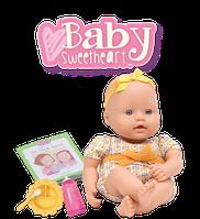 Лялька пупс Baby Sweetheart by Battat Feeding Time Вінілова з набором для кормління (B075MLB2VW)