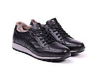 Мужские кроссовки Etor на меху 40 Черный