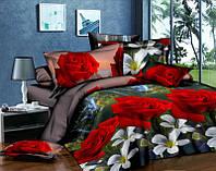 Комплект постельного белья 3Д двуспальный