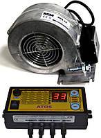 Вентилятор WPA-X2+автоматики ATOS для твердотопливного котла