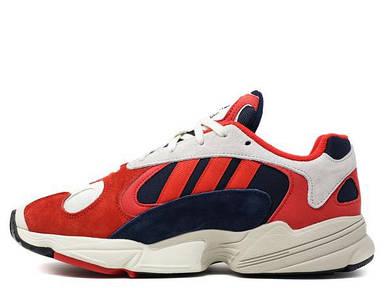 Мужские кроссовки  Adidas Yung 1 Red/White