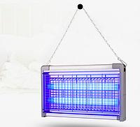 Электрическая ловушка от комаров AKL-31 2*15Вт G13, 100м2, фото 1
