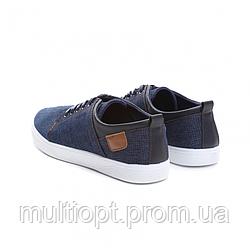 Мокасины мужские джинсовые T093-13 NAVY 40- 45