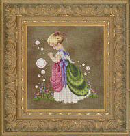 """Схема """"Isabella's Garden//Сад Изабеллы"""" Lavender & Lace"""