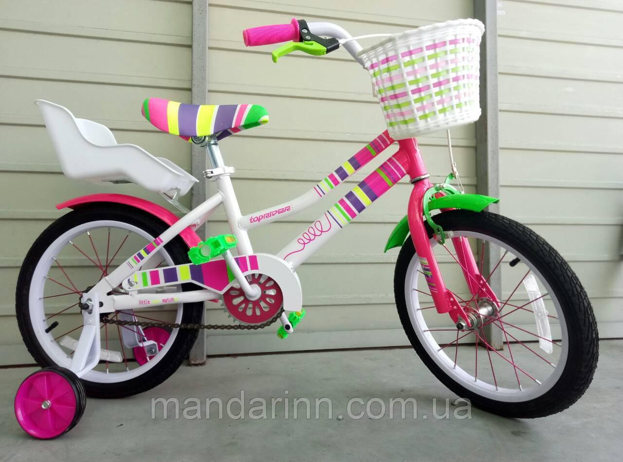 """Велосипед детский  """"Litlle Miss"""" 16 дюймов."""