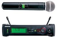 Радио микрофон Shure SLX серия, 740 Мгц, ручной.