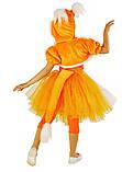 Лисичка карнавальный костюм для девочки, юбка с пачкой / BL - ДЖ94, фото 2