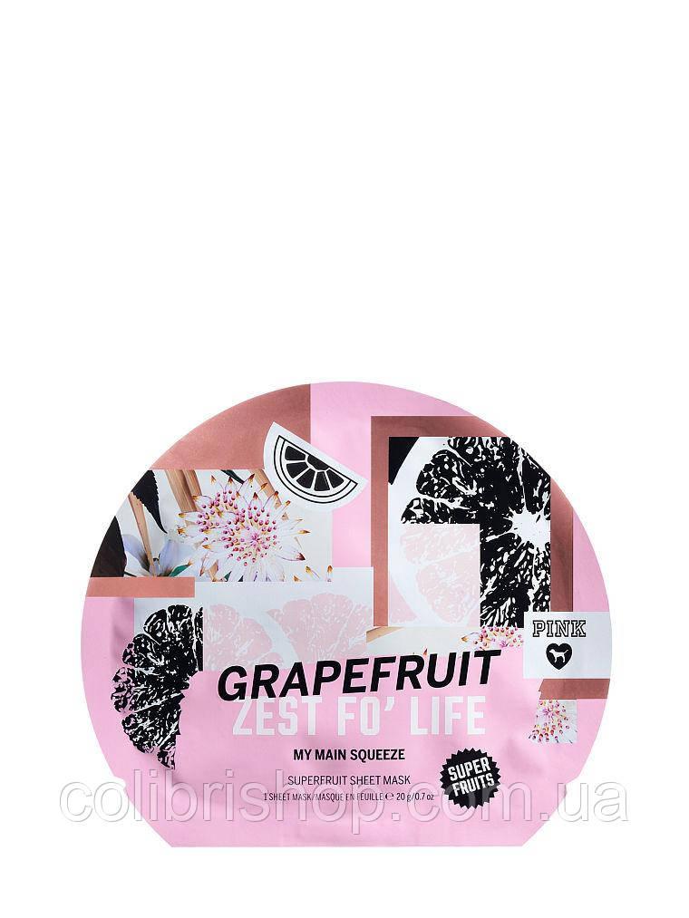 Маска для лица PINK Grapefruit Zest For Life от Victoria's Secret