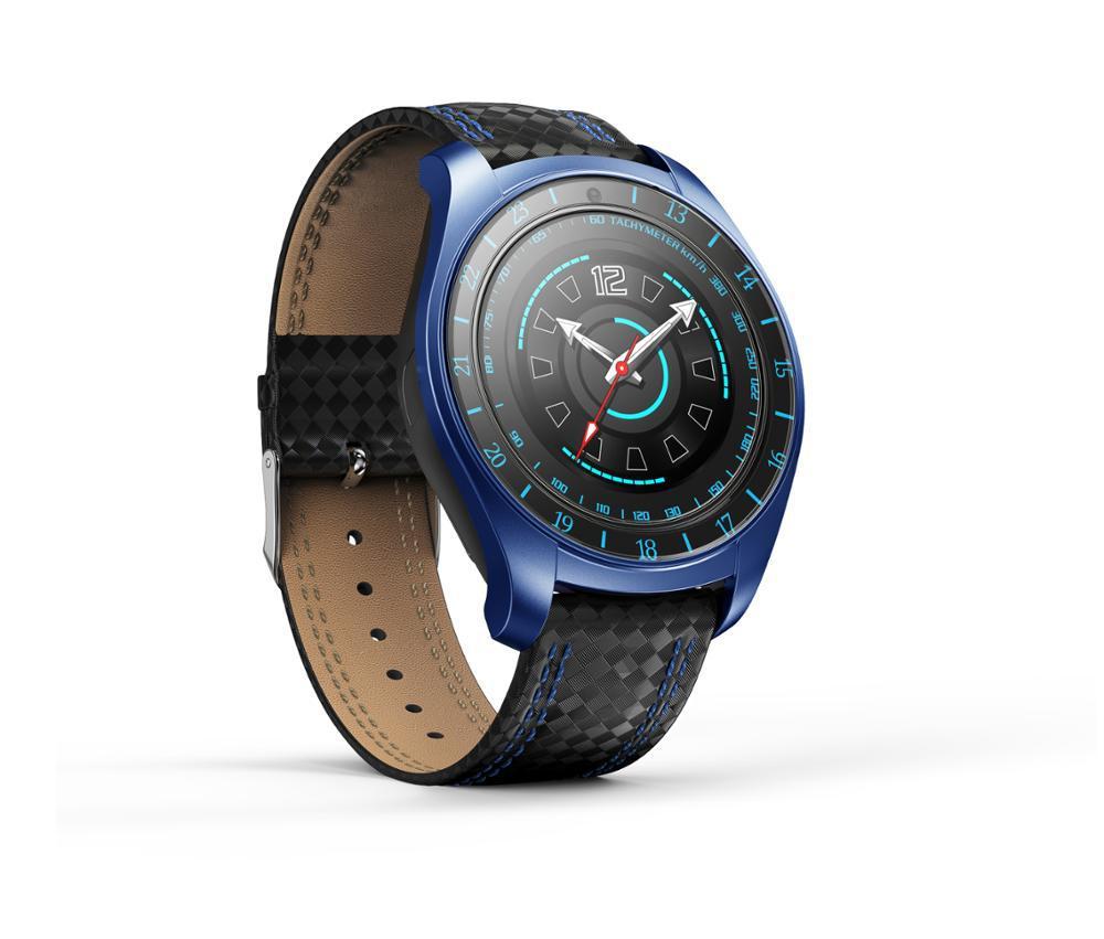 """Умные часы SUNROZ V10 смарт-часы 1.022"""""""" 280mAh Черно-Синий (SUN1189)"""