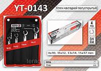 Набор разрезных ключей 4шт, 8-17мм, YATO YT-0143