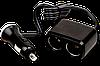Разветвитель двойник прикуривателя AW07-11 на 12V/24V, 70W AUTO WELLE