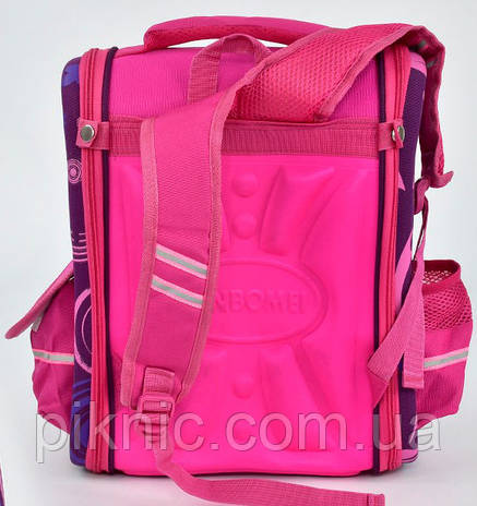 Ранец каркасный Принцессы 1, 2, 3, 4 класс для девочки Школьный рюкзак портфель ортопедический, фото 2