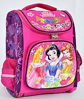 Ранець каркасний Принцеси 1, 2, 3, 4 клас для дівчинки Шкільний рюкзак портфель ортопедичний