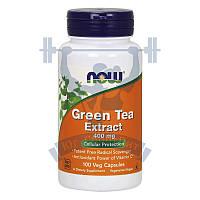 NOW Green Tea Extract экстракт зеленого чая для похудения снижения веса жиросжигатель
