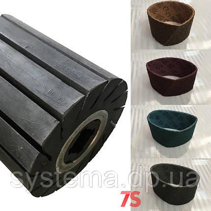 Шлифовальная лента скотч-брайт для резинового вала (барабана) - 3M Scotch-Brite, 100x286 мм, фото 2