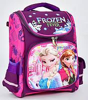 dfc67f58ae6a Ранец каркасный Фроузен Эльза 1, 2, 3, 4 класс для девочки Школьный рюкзак