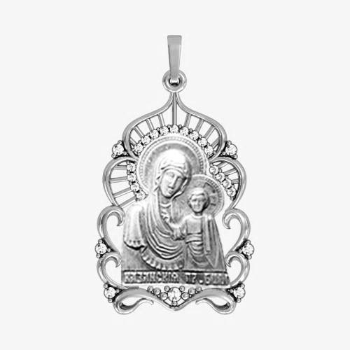Ладанка серебряная Богородица ЛП-2