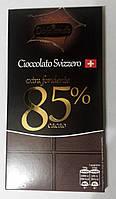 Горький классический шоколад Dolciando Svizzero 85% какао, 100 гр., фото 1