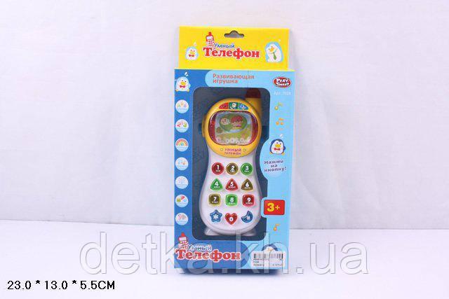 """Телефон мобильный PLAY SMART 7028 """"Умный телефон"""""""