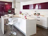 Стильная крашеная кухонная мебель в Харькове