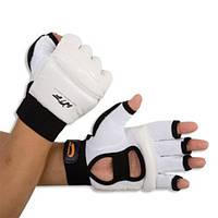 Накладки(перчатки)для таеквондо PU+PL BO-2016-WTF,белый S Белый