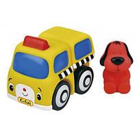 Транспорт-конструктор Школьный автобус с Патриком серии Popbo. Ks Kids