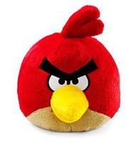 Мягкая игрушка ANGRY BIRDS (птичка красная, звук, 12см)