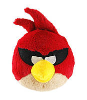 Мягкая игрушка ANGRY BIRDS SPACE (птичка красная, звук, 12см)