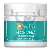 Антивозрастной крем Puritan's Pride Aloe Vera Natural Moisturizing Cream 56г крем с алоэ-вера