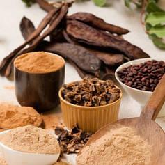 Кероб, натуральний замінник кави та какао