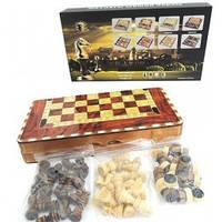 Набор игр 3 в 1: Нарды,шахматы,шашки W5001D