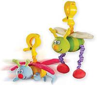 Игрушка-подвеска на прищепке - ЖУЖУ (в ассортименте: дрожащие бабочка и пчёлка)