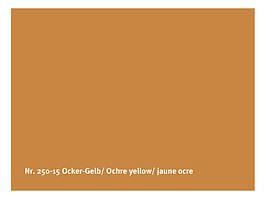 Натуральная глянцевая краска  AURO № 250 охра желтая 0,375 л
