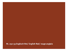Натуральна глянсова фарба AURO № 250 англійська червоний 0,375 л
