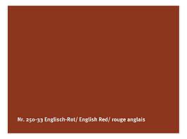 Натуральная глянцевая краска  AURO № 250 английский красный 0,375 л