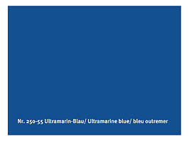 Натуральная глянцевая краска  AURO № 250  ультрамарин синий  0,375 л