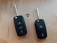 Корпус выкидного автоключа для SKODA (шкода) 2 - кнопки, после 2008 года