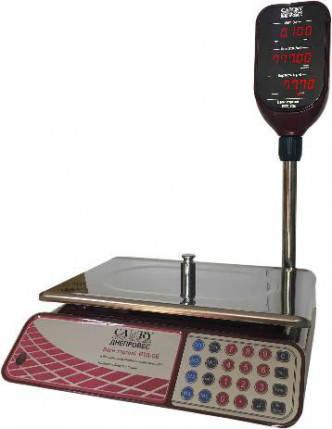 Весы торговые со стойкой Camry ВТД-СЕ (6 кг, 15 кг, 30 кг)