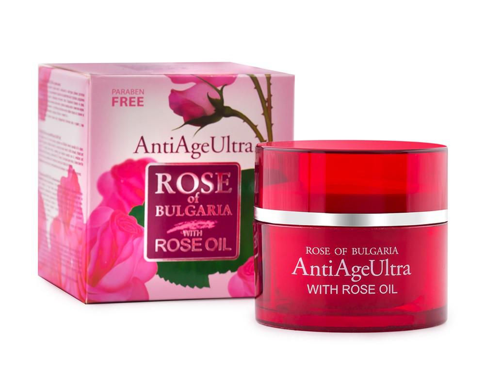Ультраантивозрастной крем для лица с розовым маслом Anti Age Ultra Rose of Bulgaria от BioFresh 50 мл