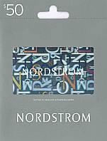 Nordstrom Gift Card 50$, скидка 2%