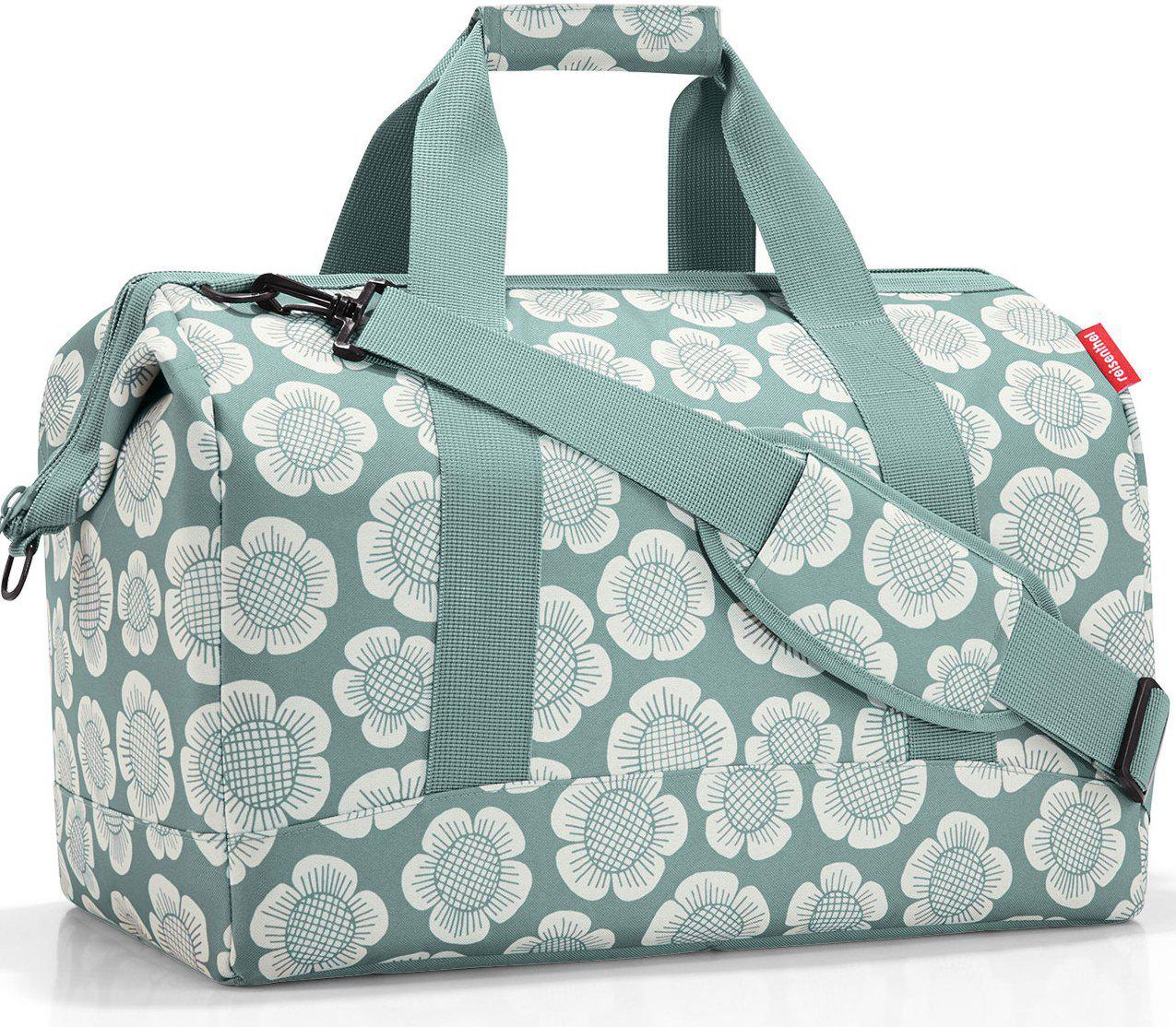a438618e4c40 Женская дорожная сумка Reisenthel, MT5037, 30 л., текстиль, серый -  SUPERSUMKA