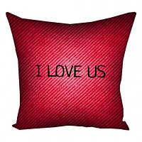Подушка I Love Us