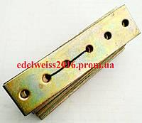 Планка соединительная прямая 120х30 мм.