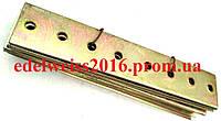 Планка соединительная прямая 160х30 мм.