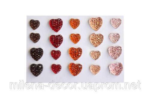 Клеевые сердечки  (20 шт.)