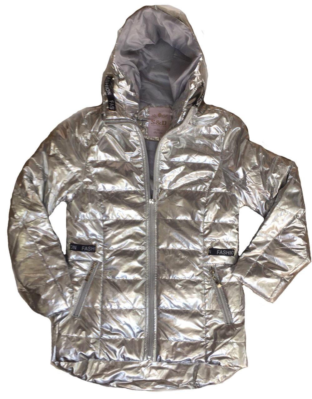Куртки для девочек на синтепоне оптом, S&D, размеры 6-16 арт. KF 79