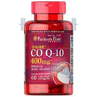 Puritan's Pride Q-SORB™ Co Q-10 100 mg для сердца и сосудов антиоксидант коэнзим ку10 против старения 60