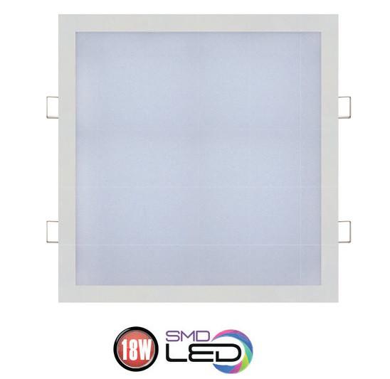 Встраиваемый светодиодный квадратный светильник 18W Horoz