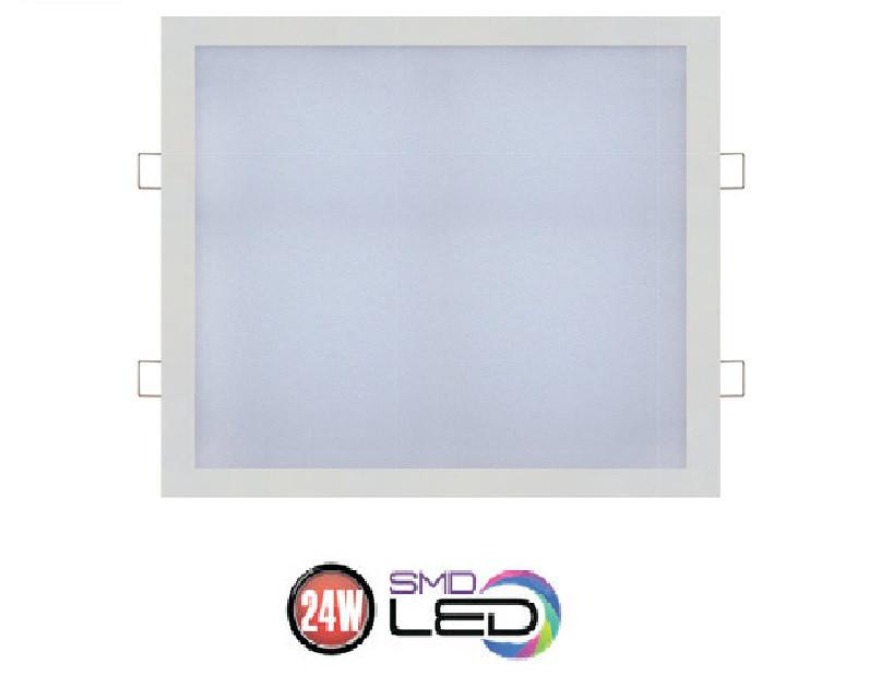 Встраиваемый светодиодный квадратный светильник 24W Horoz