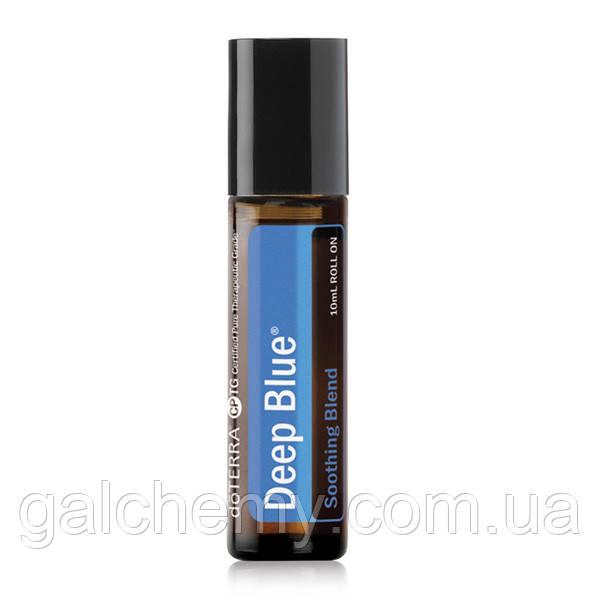 Deep Blue Roll On / «Глубокая синева», смесь эфирных масел, роллер, 10 мл